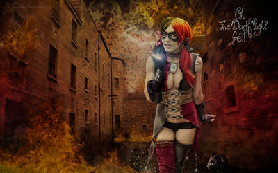 Harley Quinn by DorianOrendain