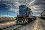 The Train by DorianOrendain