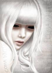 Coma white by claudz-ART