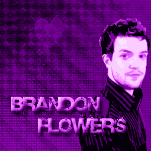 Grunge-y Brandon Flowers by triteandcheap