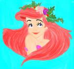 Ariel Coloring Book
