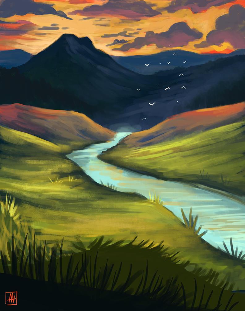Wanderlust by asheiya