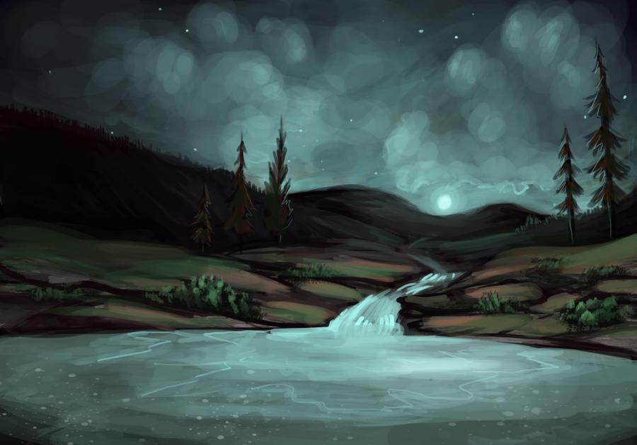 Clear Waters by asheiya