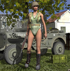 GI Jane III by XSkullheadX