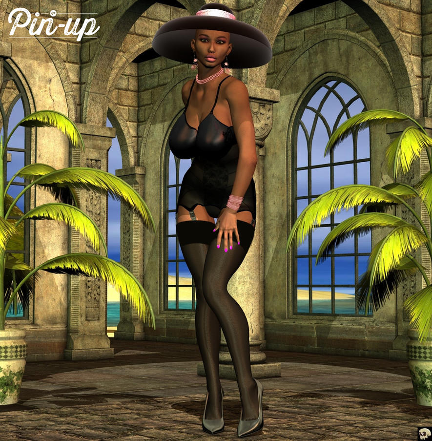 Retro Shapewear Summer II by XSkullheadX