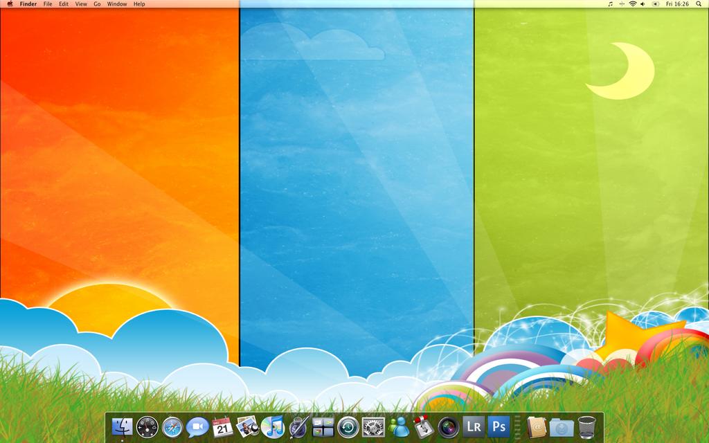 Desktop by saxondale