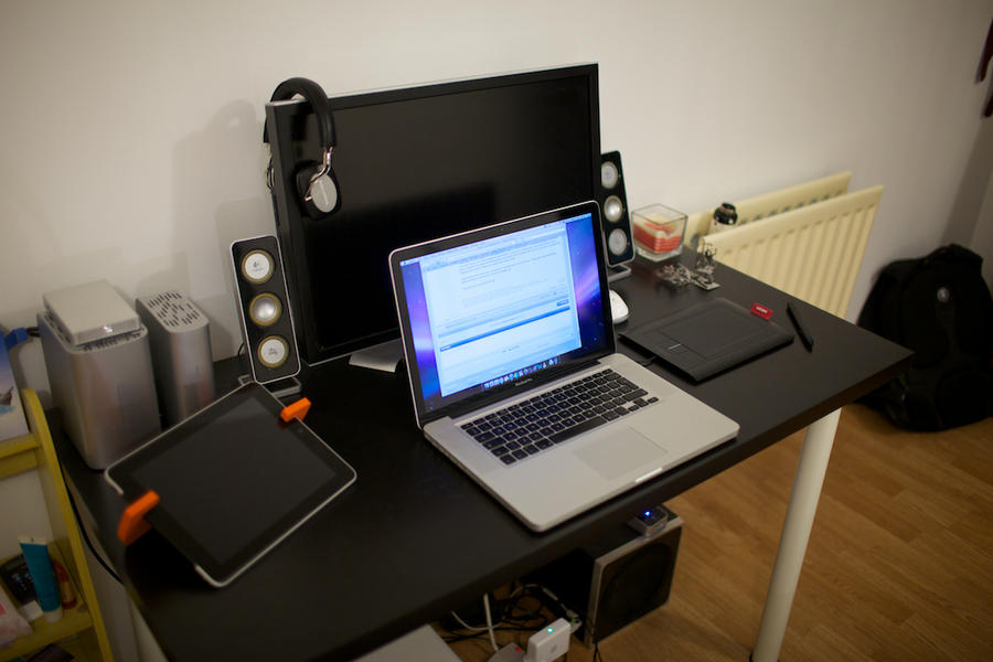 current workstation by saxondale