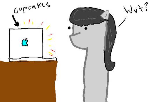 Octavia watches Cupcakes...