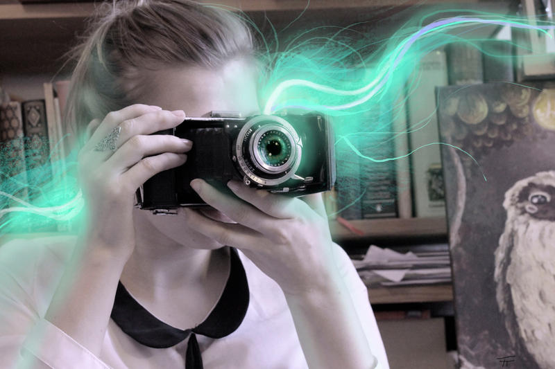 have an eye on your camera by StoryFactory