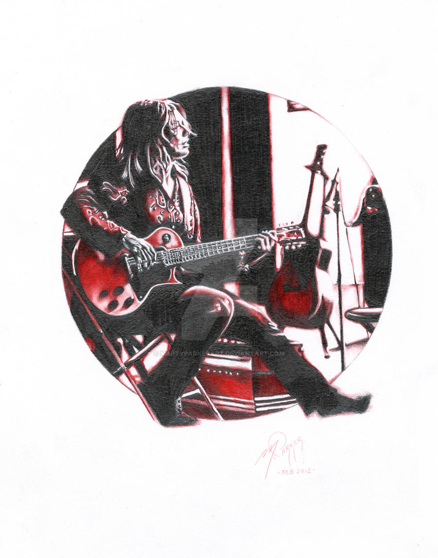 NANCY WILSON (HEART) by martyparkerart