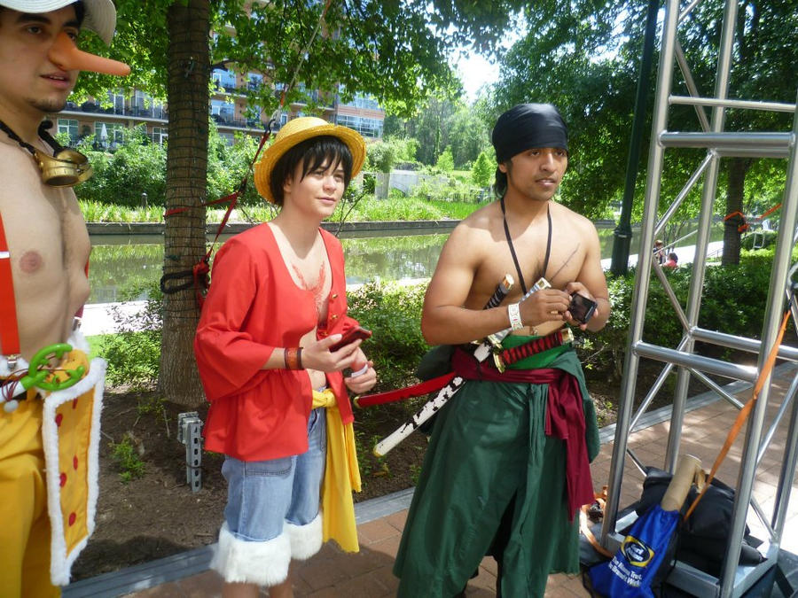 Time Skip Zoro Luffy and Usopp by ILacrimosaI on DeviantArt