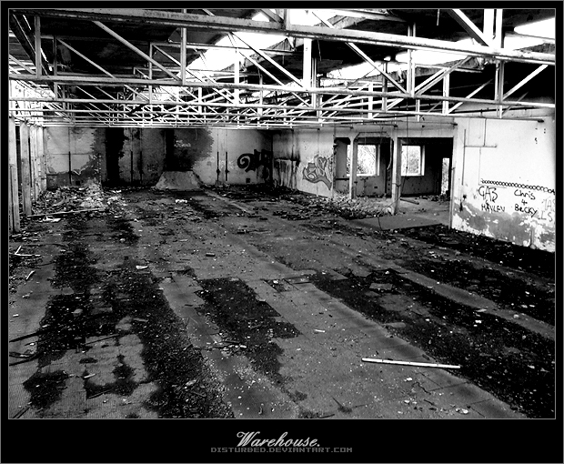 Warehouse. by disturbed