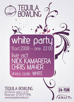 Flyer for White Party by vygo
