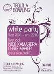 Flyer for White Party