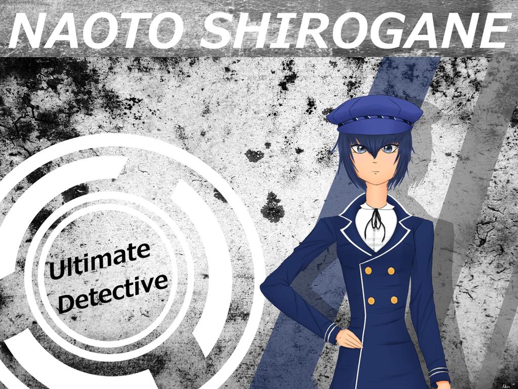 Danganronpa x Persona4 - Naoto Shirogane by xLonelyFlame