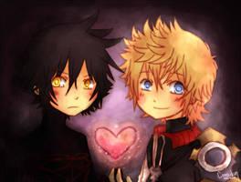 Shared Heart by Cooro-kun