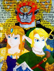 The legend of Zelda:Triforce by BrawlerNiels