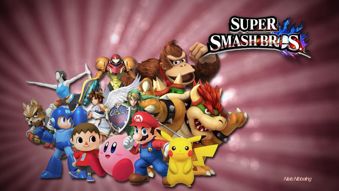 Super Smash  Bros U/3DS ART by BrawlerNiels