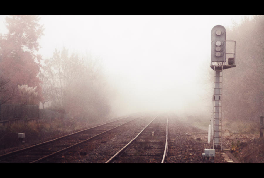 The tracks of nowhere by GabrielRigby