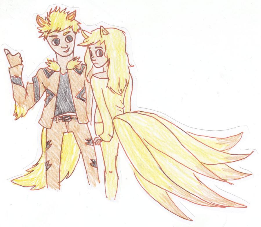 Arcanine and Ninetales...