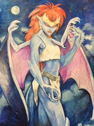 Demona by lunaseas