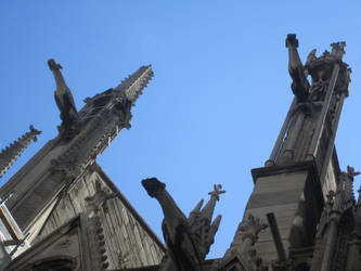 Gargoyles of Notre Dame by Meltdown02