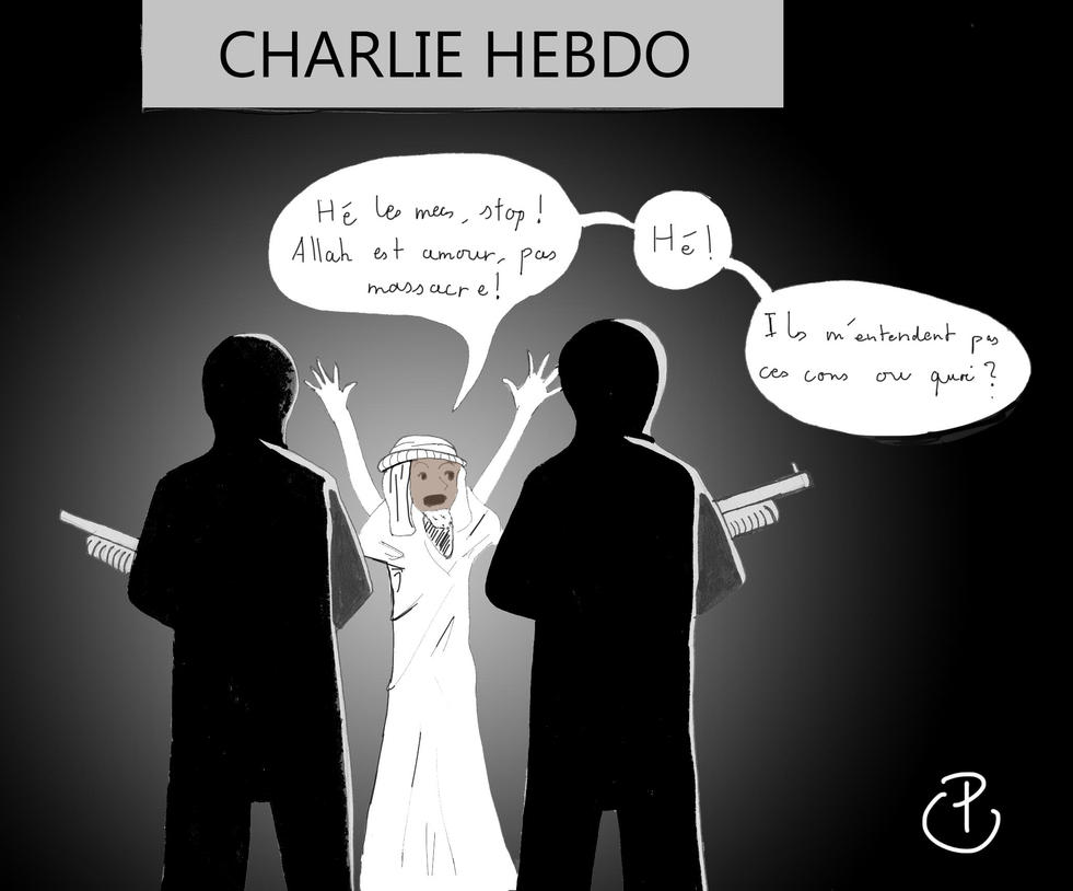 Charlie Hebdo by LightKite