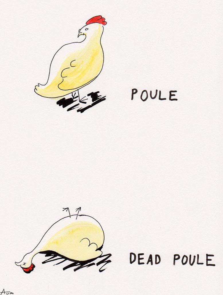 Dead poule by LightKite