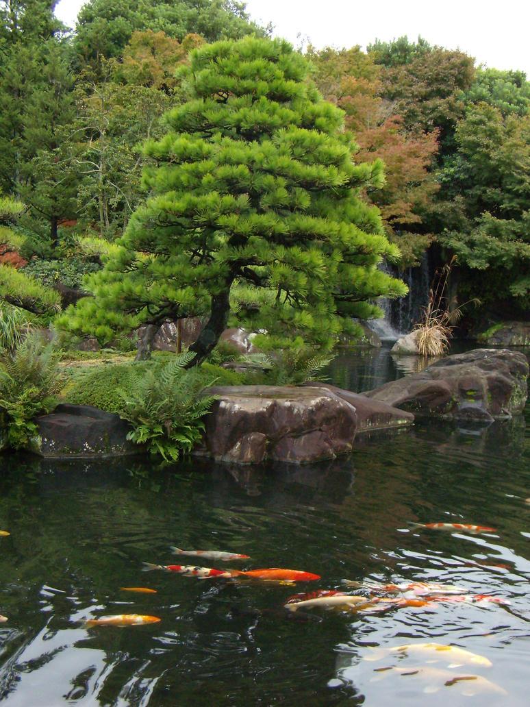 Carte Postale Jardins Himeji by LightKite