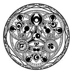 Magic circle 1 by NNao