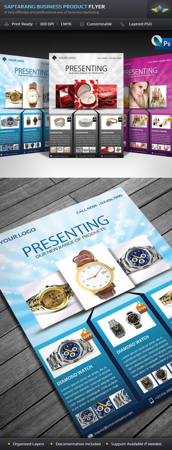 Saptarang Product Flyer by Saptarang
