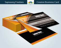 Creative Business Card by Saptarang