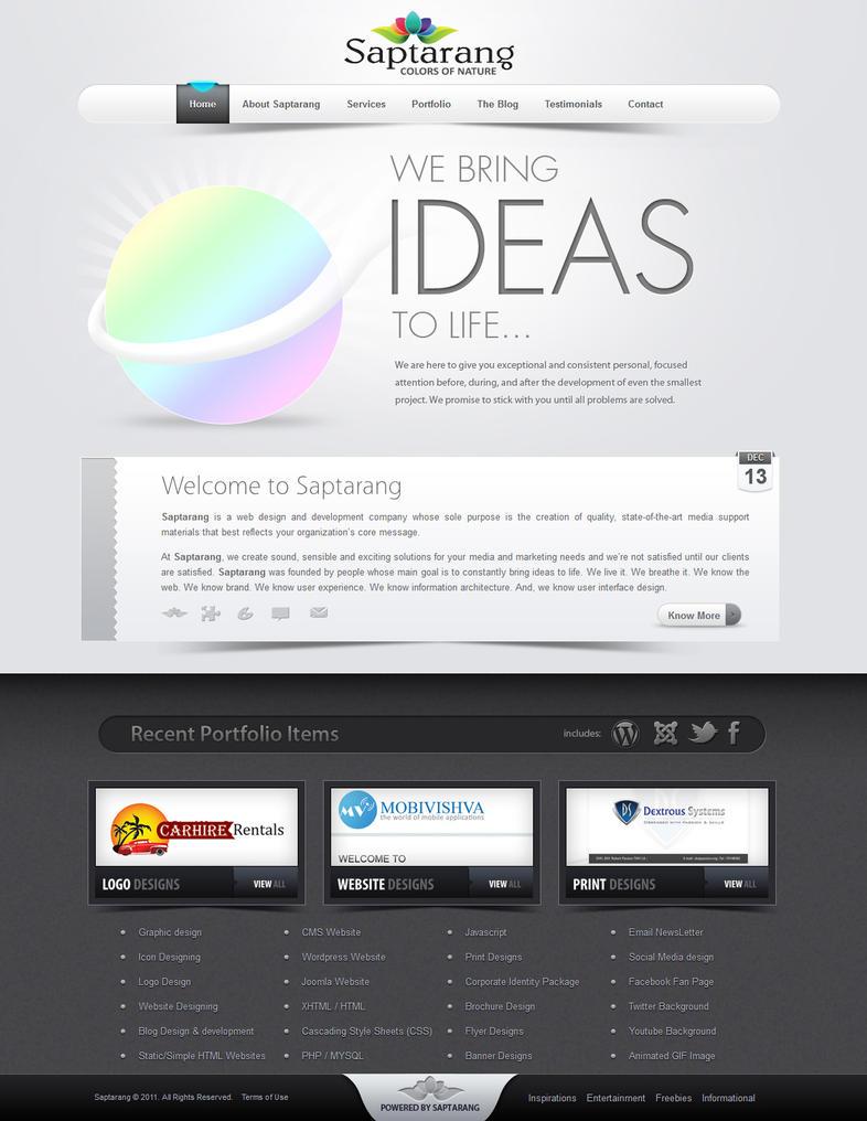 Saptarang - My Portfolio Website by Saptarang