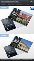 Real Estate Business Marketing Postcard
