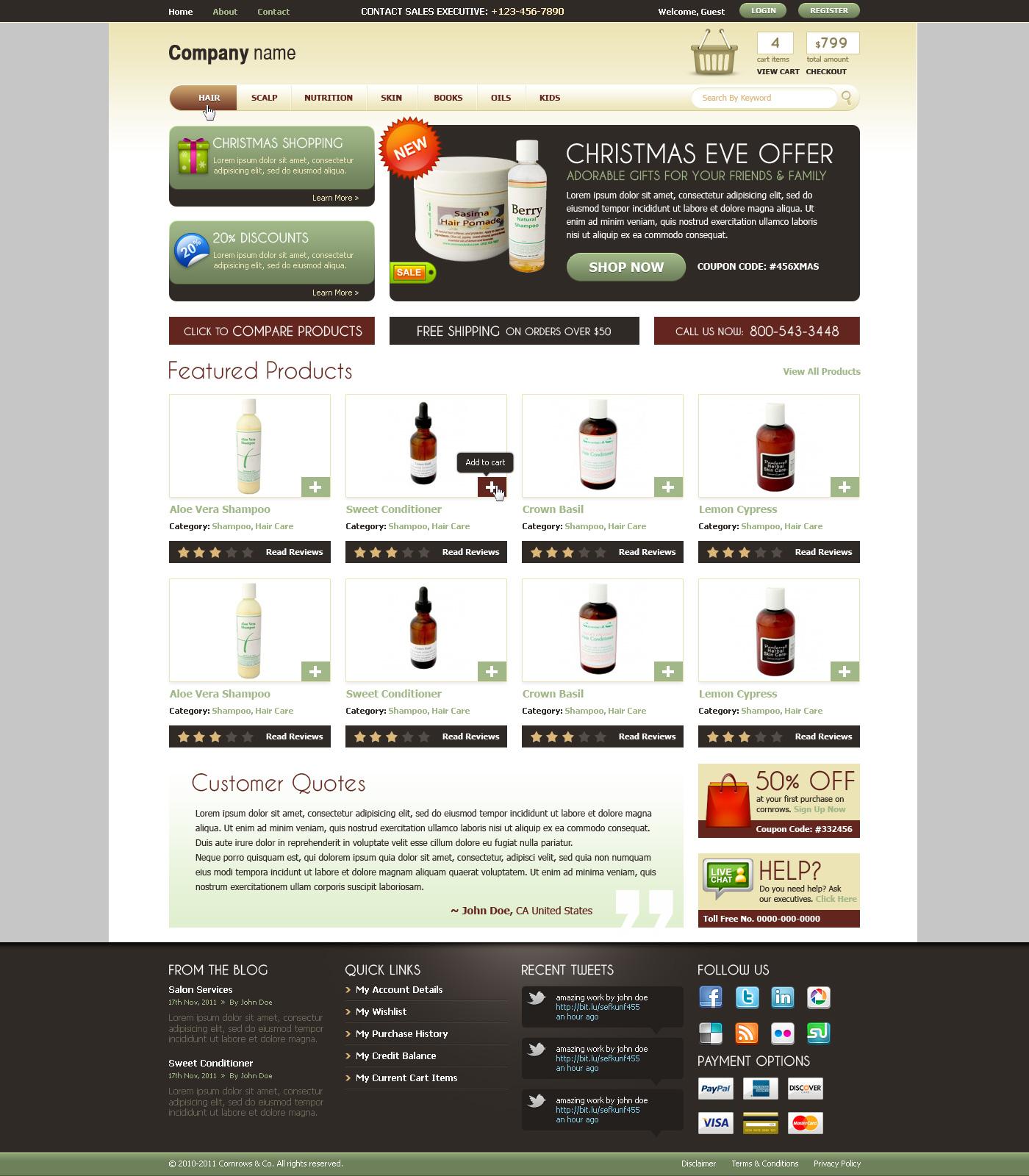 E-Commerce Shopping Web Designs on 1stwebdesigner - DeviantArt