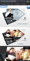 Business Solution and Consulting Postcard