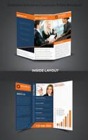Business Solution Corporate Tri-Fold Brochure by Saptarang