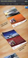 Travel Agency Corporate Flyer by Saptarang