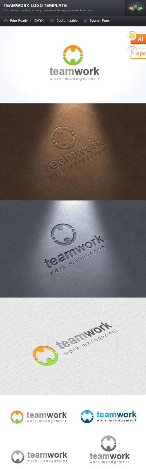 Teamwork Logo by Saptarang