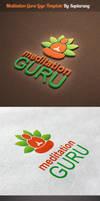 Meditation Guru Logo Template