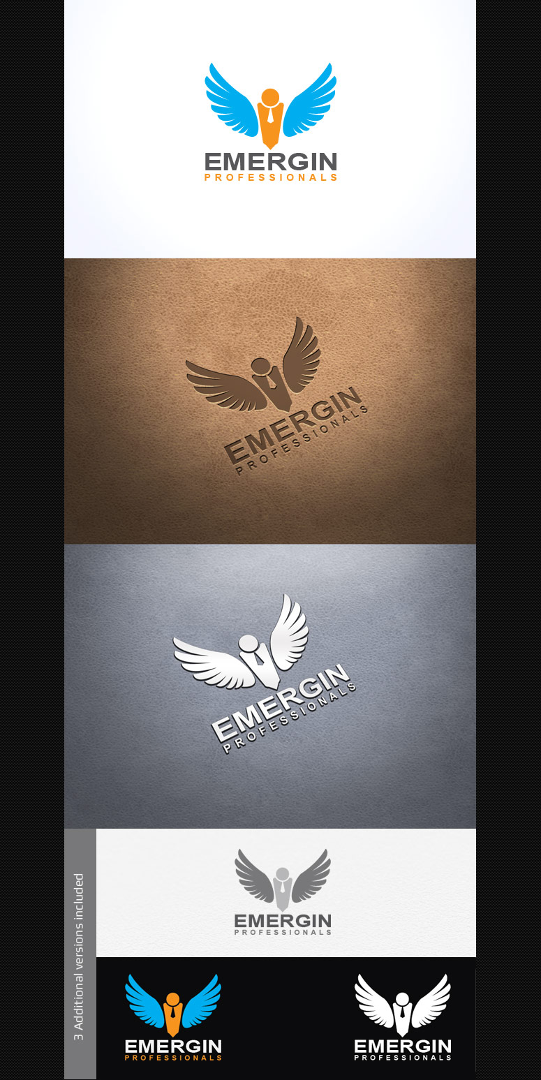 Emergin Professionals Logo Template by Saptarang