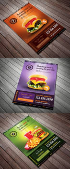Restaurant Menu Offer Flyer