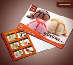 Ice Cream Shop Postcard