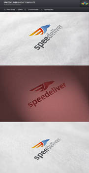 Speedeliver Logo Template