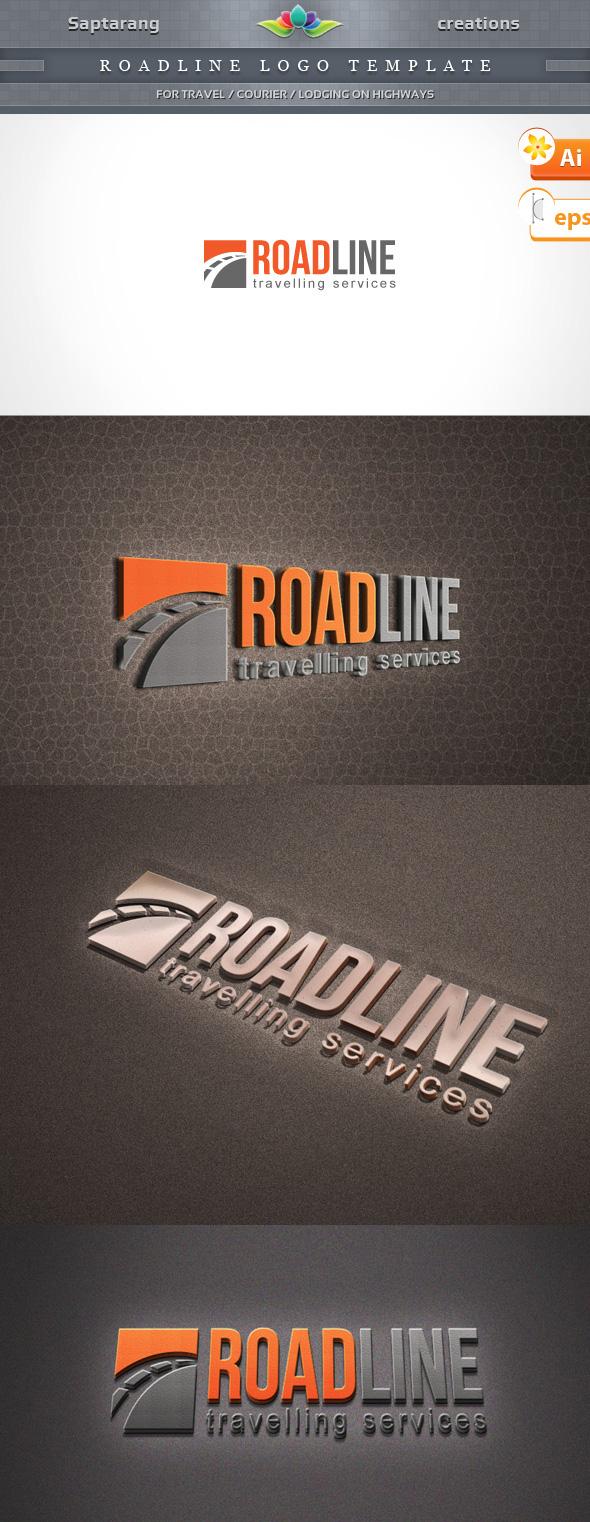 Roadline Logo Template by Saptarang