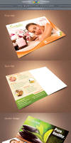 Spa Marketing Postcard Template