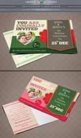 Wedding Invitation Postcard by Saptarang