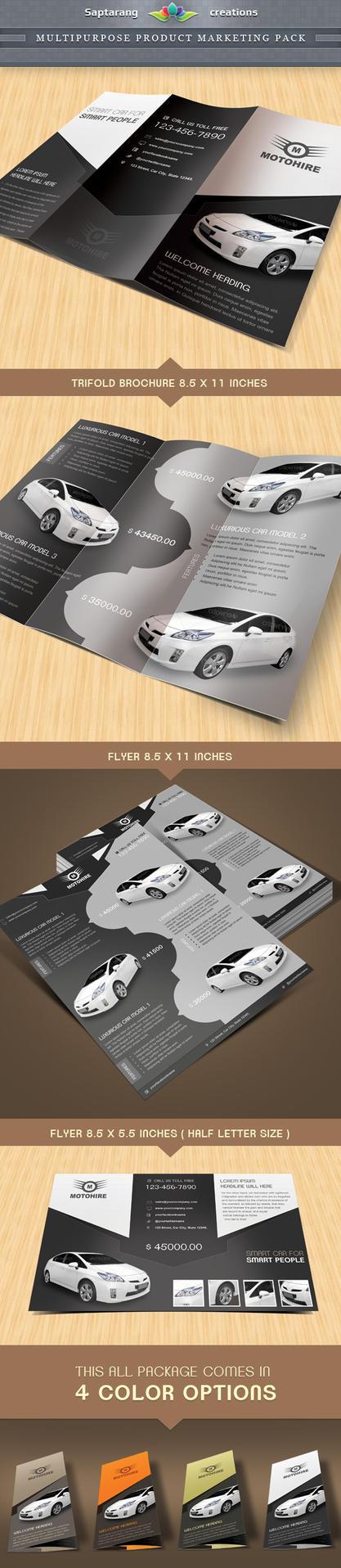Multipurpose Product Marketing Package by Saptarang