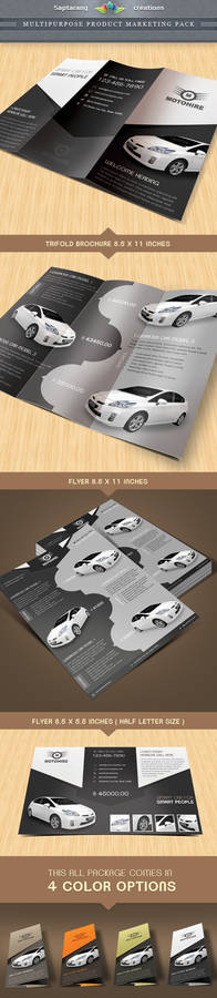Multipurpose Product Marketing Package