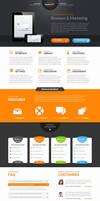SaptaApp Landing Page Template by Saptarang